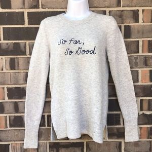 Madewell | NWOT graphic  sweater